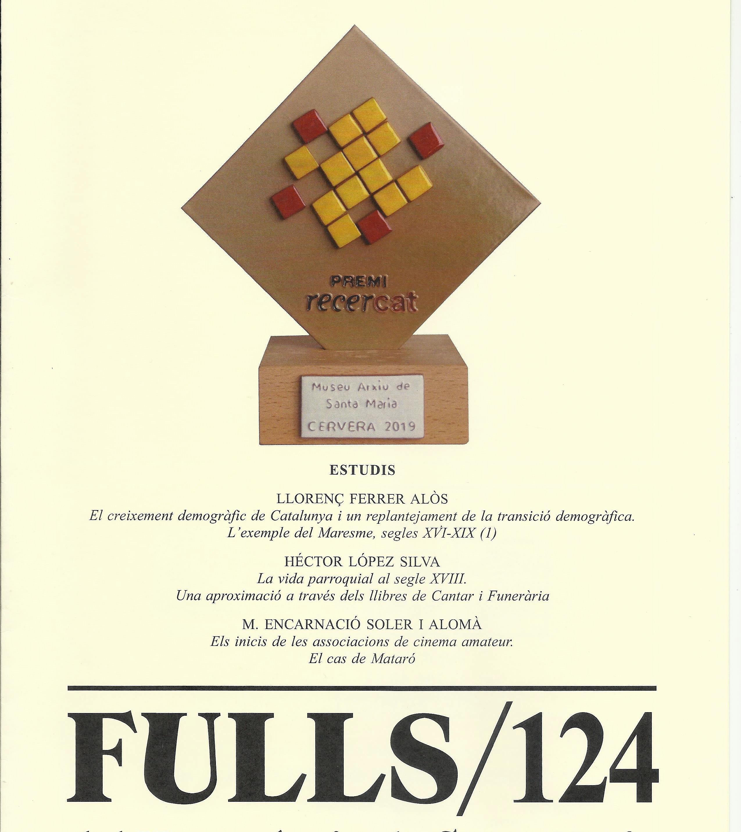 Presentació de la revista Fulls del Museu Arxiu n. 124 i visita comentada a l'exposició del flabiol