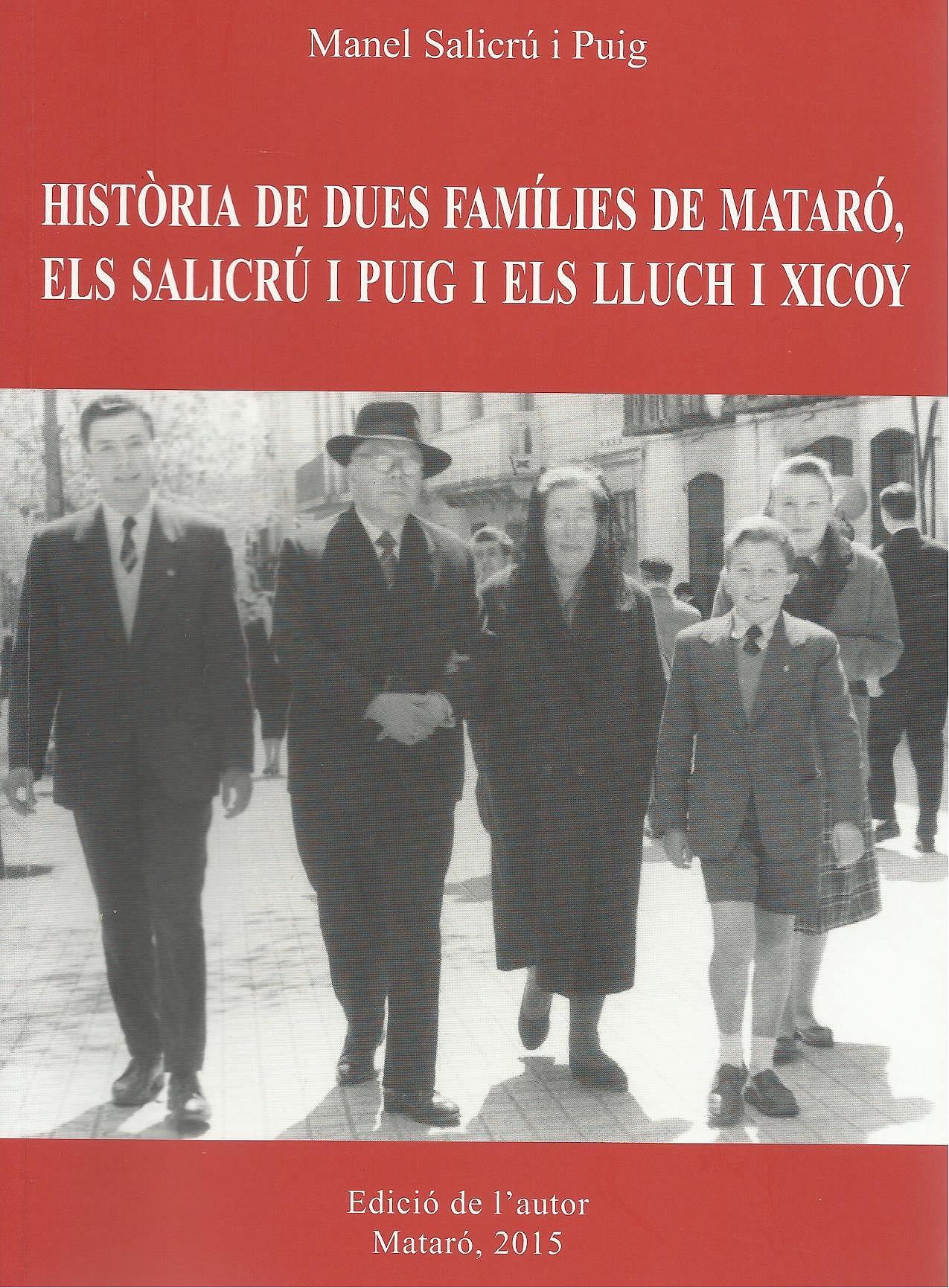 Presentació del llibre de Manel Salicrú i Puig