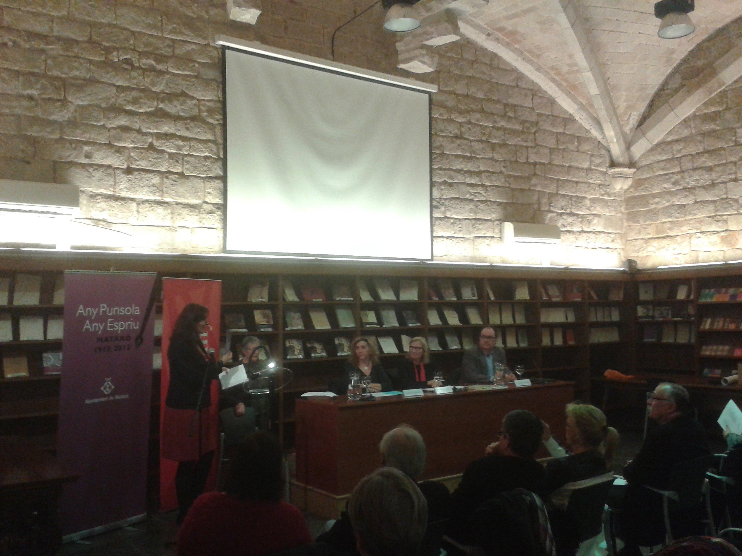 Presentació de l'obra inèdita de Punsola a la Biblioteca de Catalunya