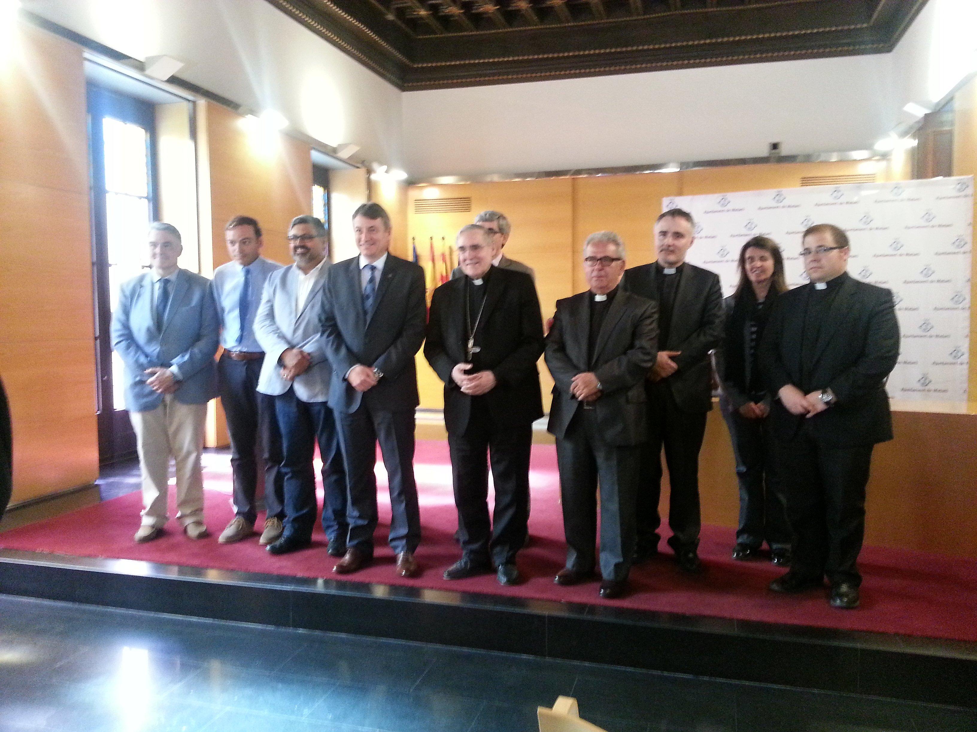 Signat el conveni per restaurar la capella dels Dolors