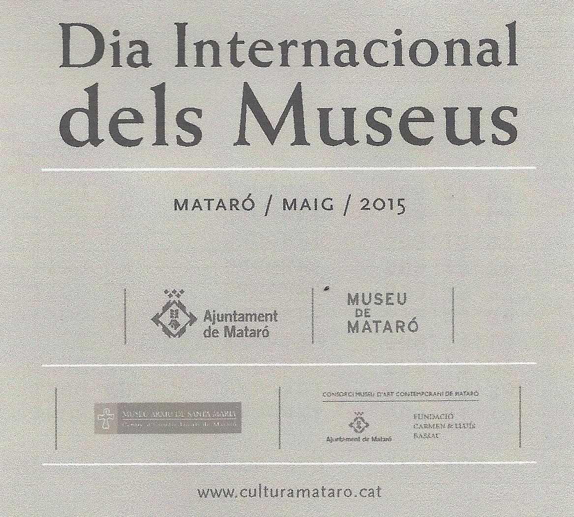 Dia Internacional dels Museus. Conferència a can Marfà
