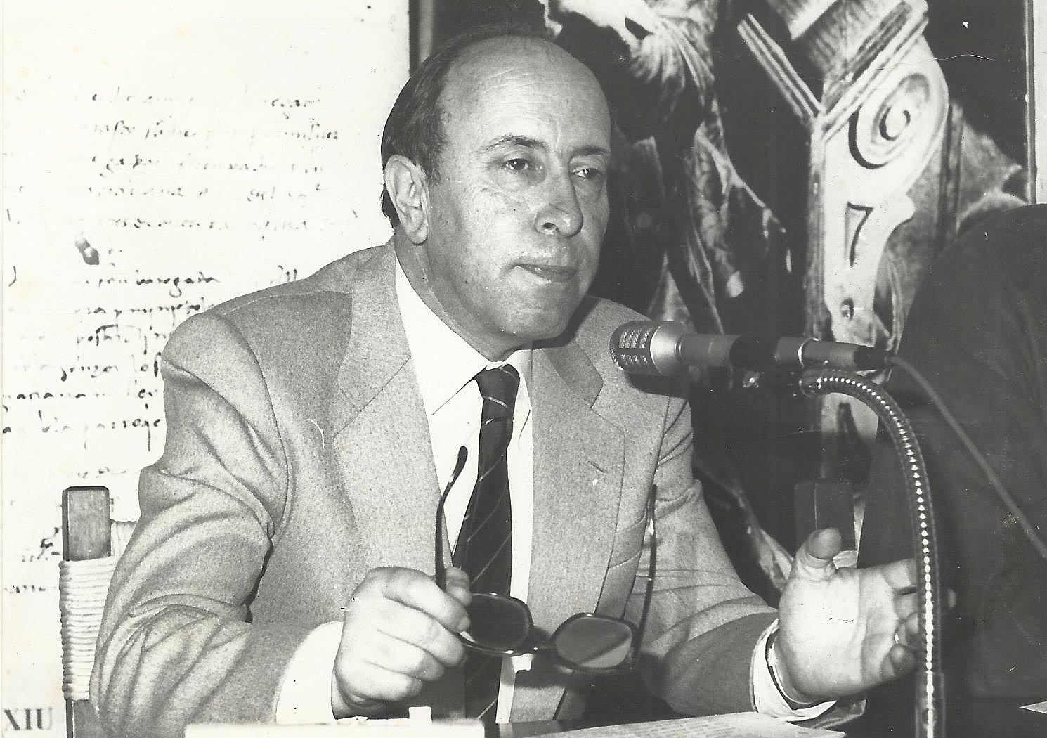 Acte de reconeixement a l'historiador Antoni Martí Coll