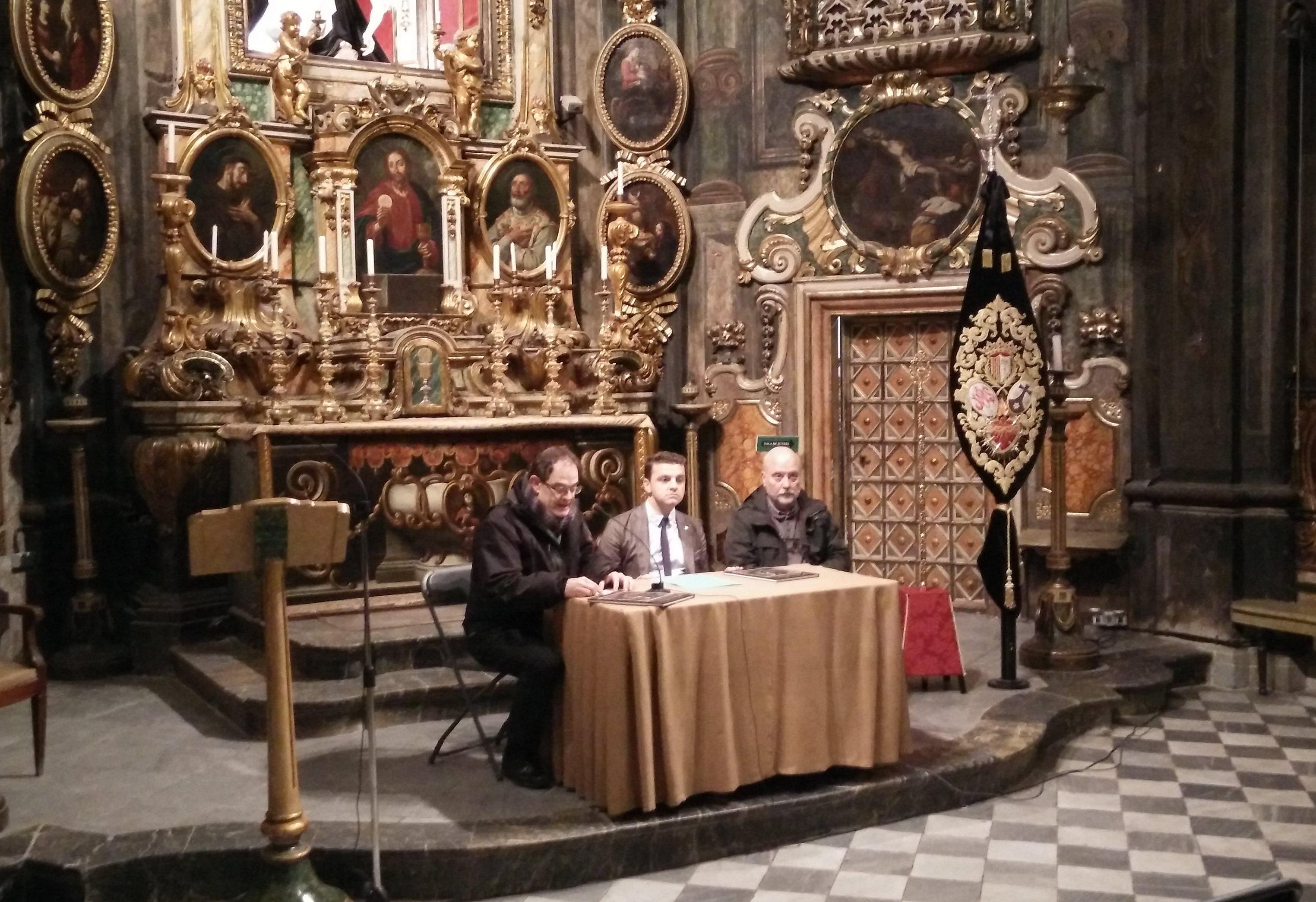 Presentació del llibre sobre el Mataró barroc